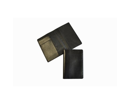 Обложка для паспорта Grand 02-005-0713 кожаная черная - (466075К)