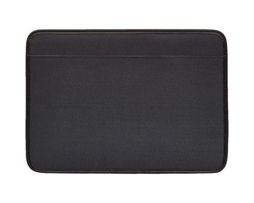 Папка деловая Прима из полиэстера темно-серого цвета - (449706К)