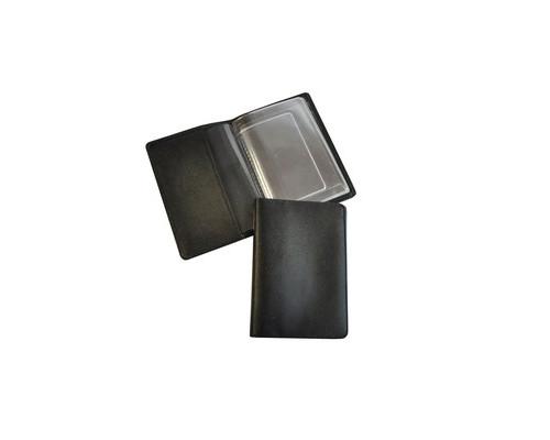 Обложка для автодокументов Grand 02-024-0713 кожаная черная - (466078К)