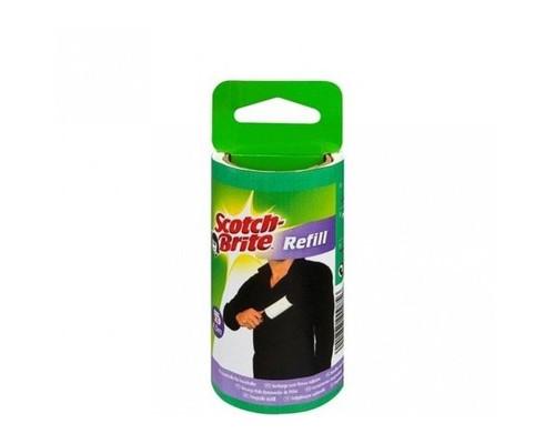 Ролик для чистки одежды 3М Scotch-Brite запасной блок 30 листов - (667304К)