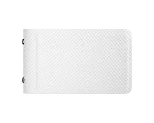 Визитница карманная Attache Selection V010102 на 32 визитки из искусственной кожи белого цвета - (458173К)