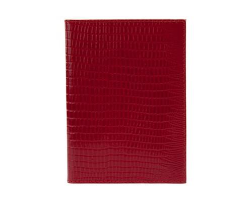 Бумажник водителя Fabula BV1КК Reptile натуральная кожа красный - (213504К)