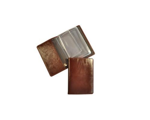 Обложка для автодокументов Grand 02-024-0823 кожаная темный коньяк - (466080К)
