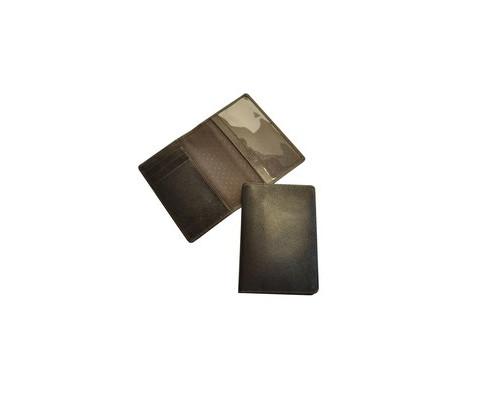 Обложка для паспорта Grand 02-005-0723 кожаная коричневая - (466076К)