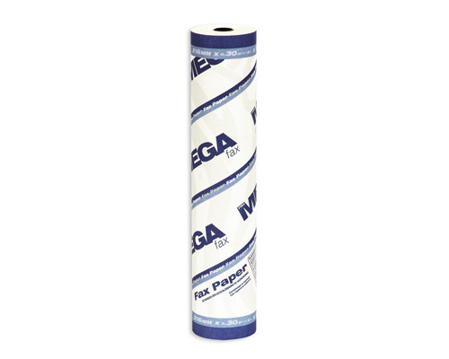 Ролик для факсов из термобумаги ProMega Fax 216 мм диаметр 40-42 мм намотка 25 м втулка 12 мм - (34582К)