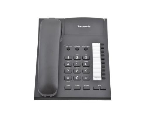 Телефон проводной Panasonic KX-TS2382RUB черный - (175457К)