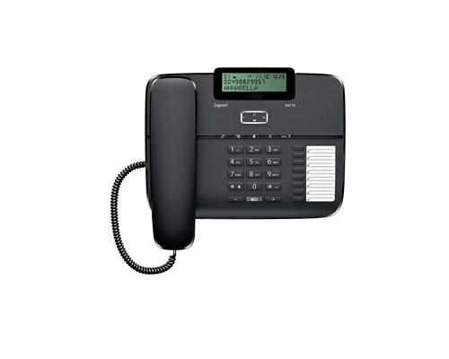 Телефон проводной Gigaset DA710 черный - (303749К)