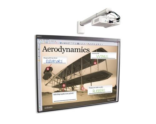 Комплект интерактивный доска Smart Board 480 77 дюймов + ключ Smart Notebook + проектор Smart V30 + крепление DSM-14Kw - (430499К)