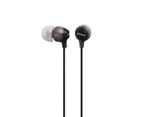 Наушники Sony MDR-EX15LP черные - (419136К)