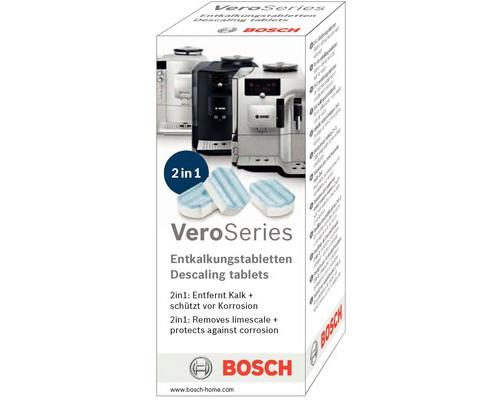 Таблетка для декальцинации Bosch TCZ8002 от накипи 3 штуки в упаковке - (414364К)