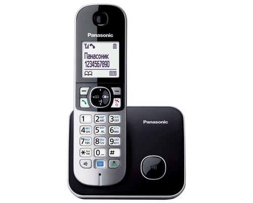 Радиотелефон Panasonic KX-TG6811RUB - (335643К)