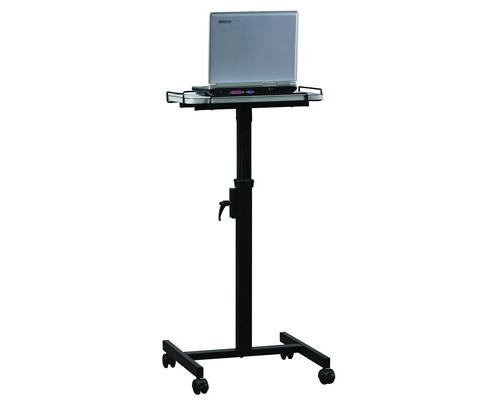 Столик проекционный Digis table Uno передвижной с полкой - (350572К)