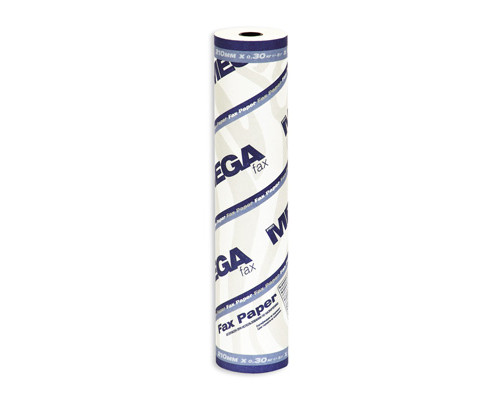 Ролик для факсов из термобумаги ProMega Fax 210 мм диаметр 41-42 мм намотка 26 м втулка 12 мм - (54492К)