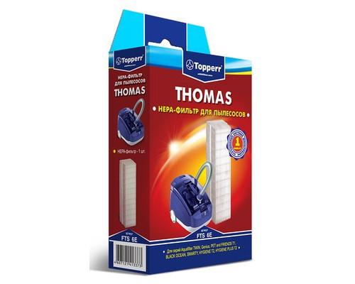 Фильтр для пылесоса Topperr FTS6Е - (354039К)