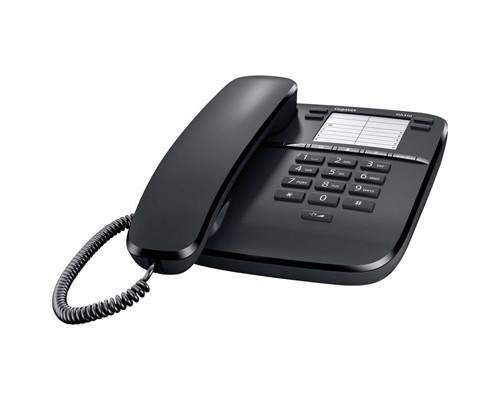 Телефон проводной Gigaset DA310 черный - (303743К)
