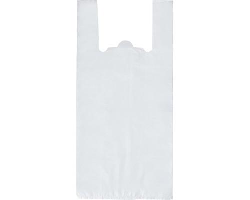 Пакет-майка Знак Качества ПНД прозрачный 15 мкм 28х13x57 см 100 штук в упаковке - (414565К)
