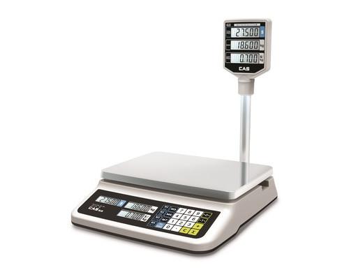 Весы торговые CAS PR-30P LCD со стойкой - (679601К)