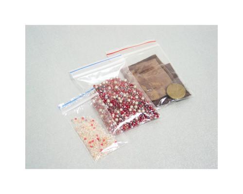 Пакет с замком Zip-Lock 6x8 см 32 мкм 100 штук в упаковке - (216817К)