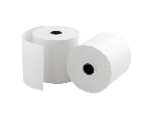 Чековая лента из офсетной бумаги ProMega 57 мм диаметр 60 мм намотка 28-30 м втулка 12 мм 15 штук в упаковке - (44920К)