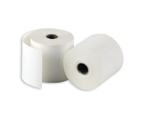Чековая лента из термобумаги ProMega 44 мм диаметр 34-36 мм намотка 20 м втулка 12 мм 28 штук в упаковке - (487523К)