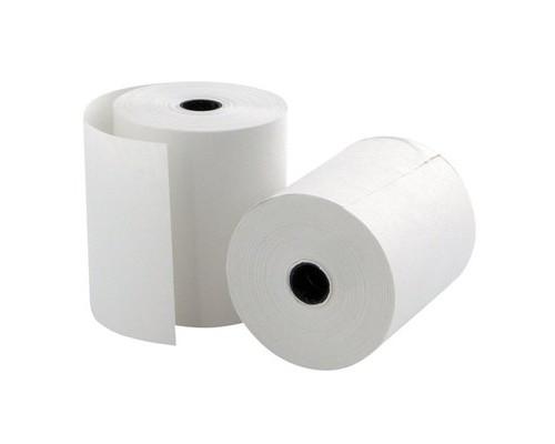 Чековая лента из термобумаги ProMega эконом 57 мм диаметр 33-35 мм намотка 18 м втулка 12 мм 24 штуки в упаковке - (487528К)