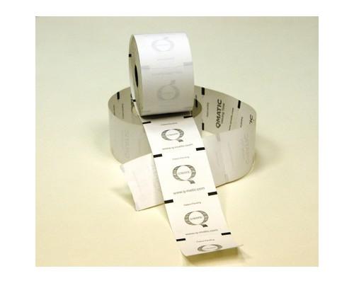 Термобилеты с перфорацией Q-Matic 60x60 мм диаметр 100 мм втулка 26 мм 24 рулона по 2000 штук - (628645К)
