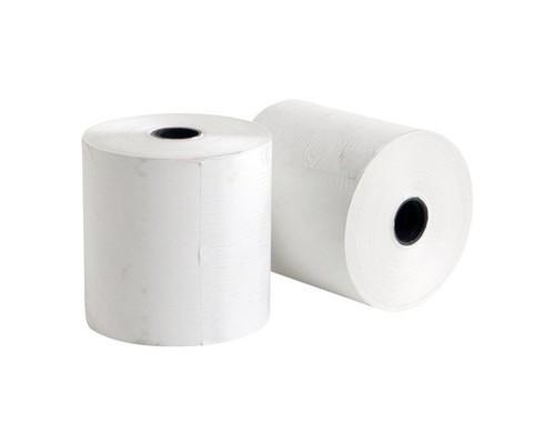 Чековая лента из термобумаги ProMega 80 мм диаметр 80 мм намотка 88 м втулка 18 мм 8 штук в упаковке - (487539К)