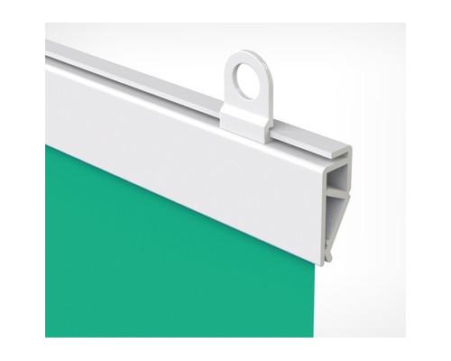 Подвесные профили для плакатов Clicker пластиковые 600 мм 2 штуки в упаковке + крючки - (645234К)