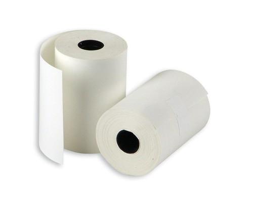 Чековая лента из термобумаги ProMega 57 мм диаметр 34-36 мм намотка 20 м втулка 12 мм 24 штуки в упаковке - (487529К)