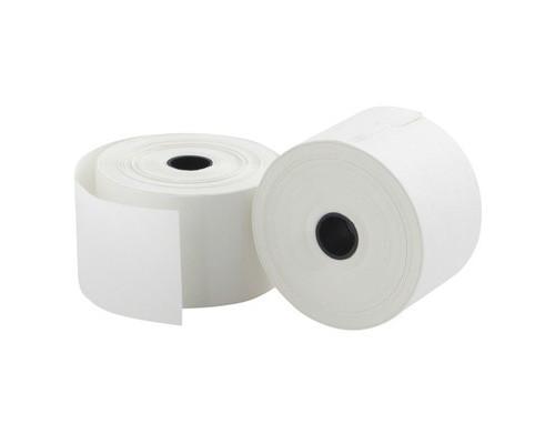 Чековая лента из офсетной бумаги ProMega 37 мм диаметр 60 мм намотка 30 м втулка 12 мм 20 штук в упаковке - (487545К)