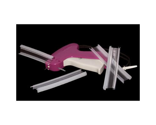 Соединители пластиковые GP 7F для пистолета-маркиратора с тонкой иглой прозрачные 7 мм 10000 штук в упаковке - (166993К)