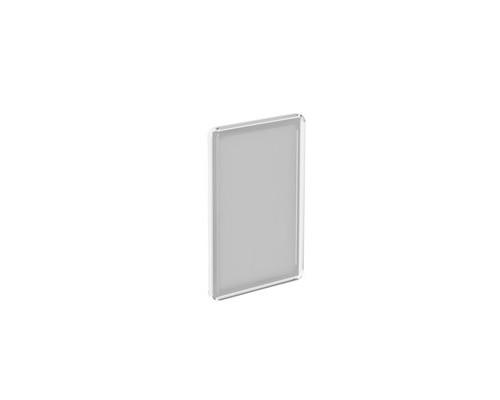 Рамка для ценникодержателей пластиковая А5 прозрачная 10 штук в упаковке - (436416К)