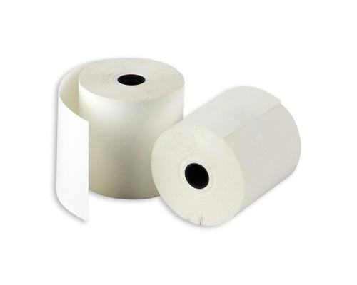 Чековая лента из термобумаги ProMega 57 мм диаметр 50-52 мм намотка 40 м втулка 12 мм 15 штук в упаковке - (487533К)
