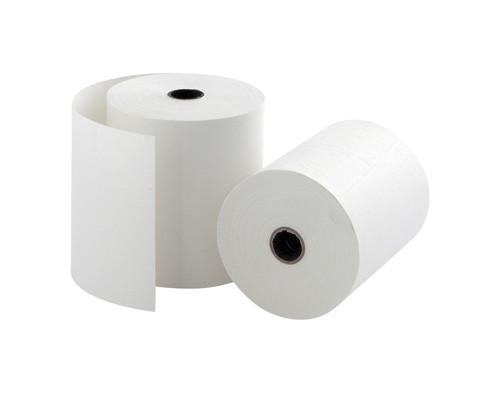 Чековая лента из офсетной бумаги ProMega 69 мм диаметр 60 мм намотка 28-30 м втулка 12 мм 10 штук в упаковке - (44921К)