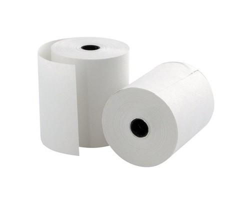 Чековая лента из термобумаги ProMega 80 мм диаметр 200 мм намотка 520 м втулка 18 мм 8 штук в упаковке - (63908К)
