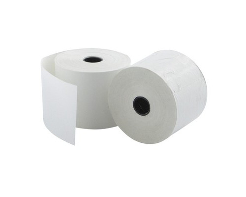 Чековая лента из офсетной бумаги ProMega 44 мм диаметр 60 мм намотка 30 м втулка 12 мм 20 штук в упаковке - (487548К)