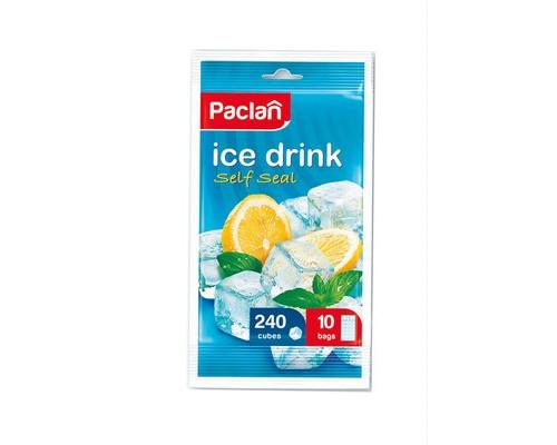 Пакеты для льда Paclan в форме куба 10x24 см 240 штук - (227785К)